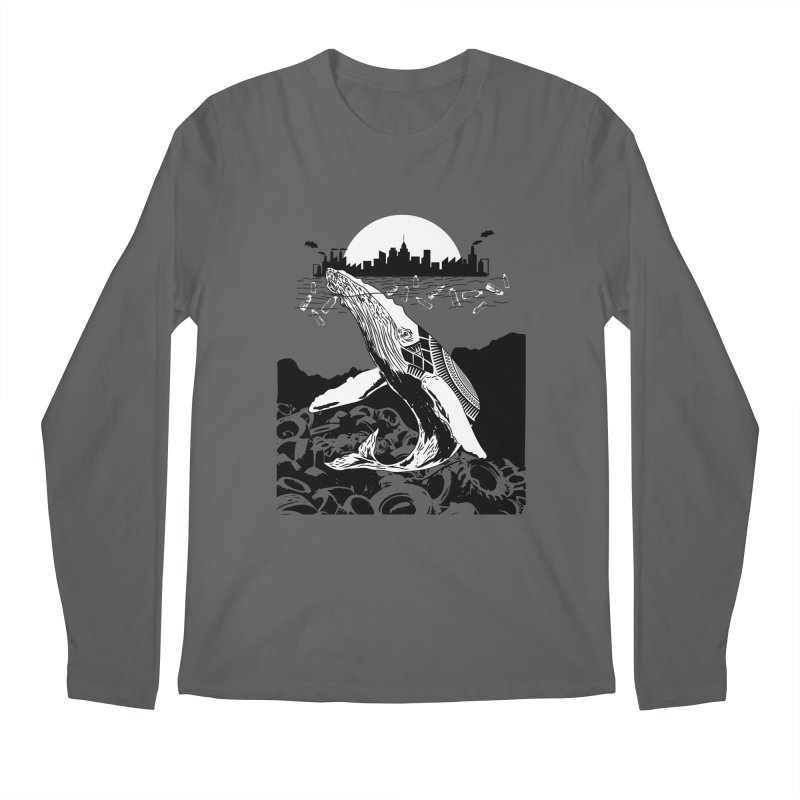 Too Much Pollution Men's Longsleeve T-Shirt by Bware Clothing's Shop