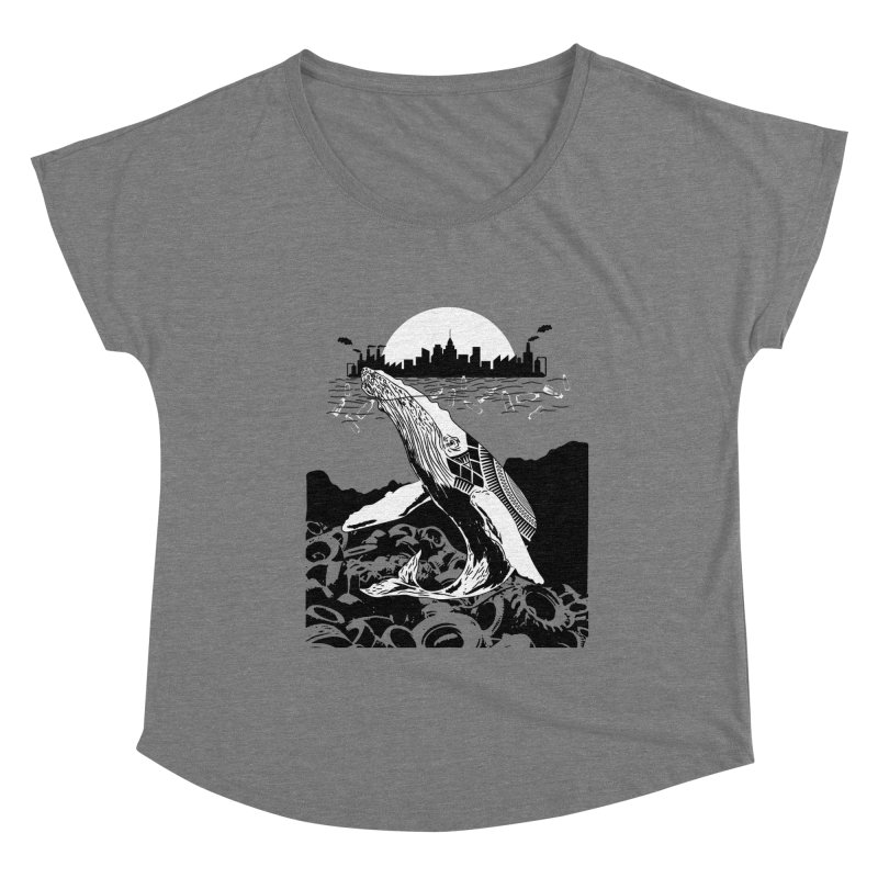 Too Much Pollution Women's Scoop Neck by Bware Clothing's Shop