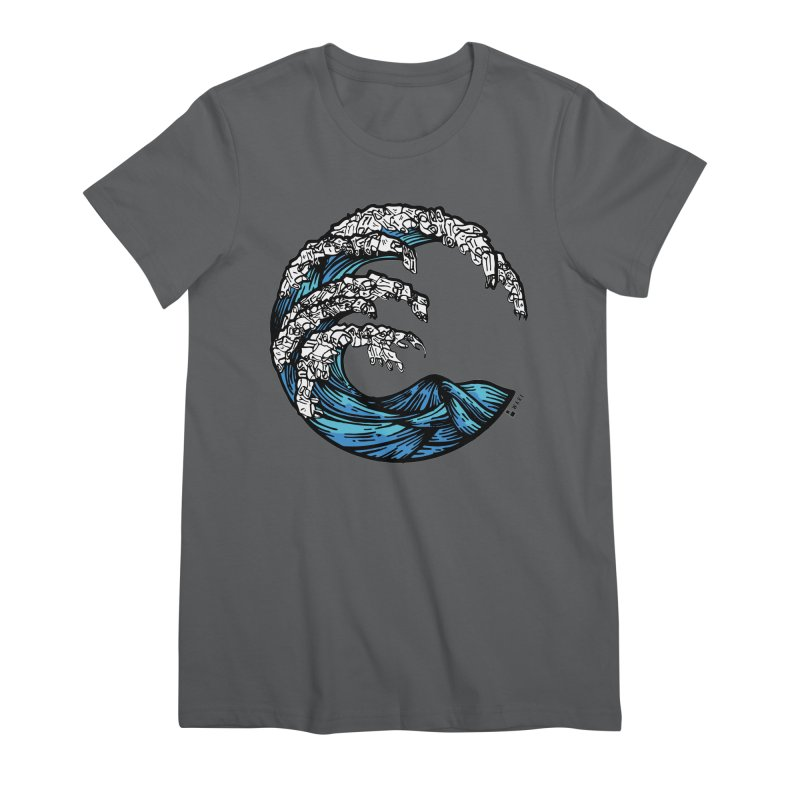 Waves of Rubbish Women's T-Shirt by Bware Clothing's Shop