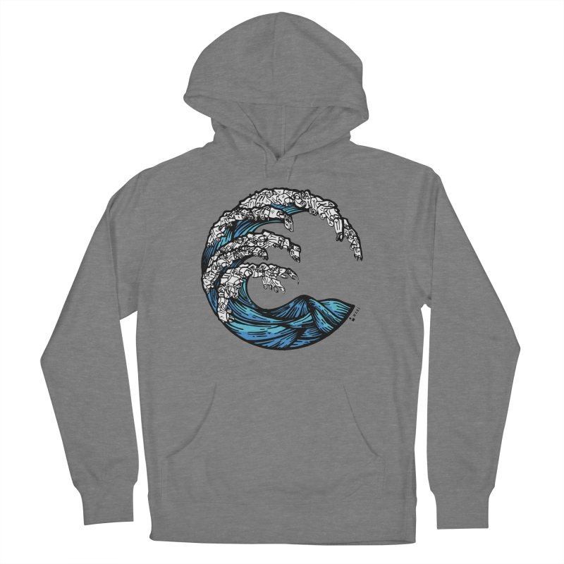 Waves of Rubbish Women's Pullover Hoody by Bware Clothing's Shop