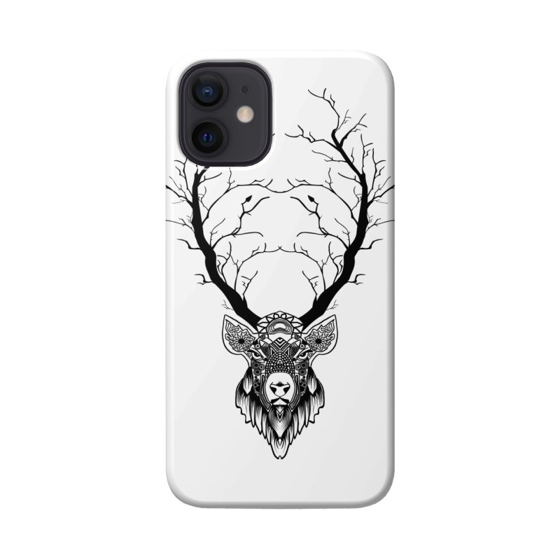 Deer to Tree Transformation Accessories Phone Case by Bware Clothing's Shop