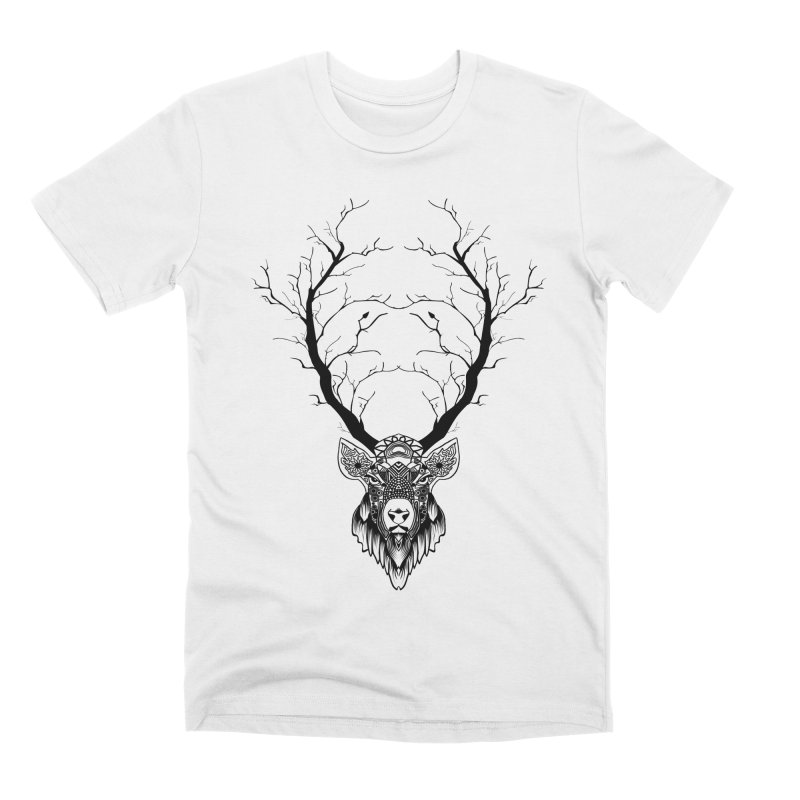 Deer to Tree Transformation Men's T-Shirt by Bware Clothing's Shop