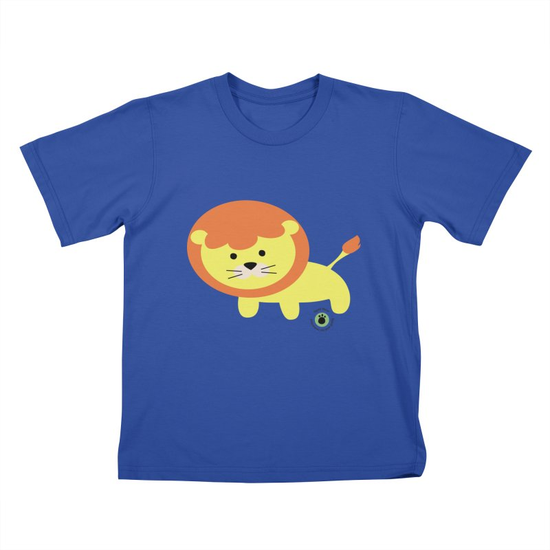Spell Bear's Lion Kids T-Shirt by Bware Clothing's Shop