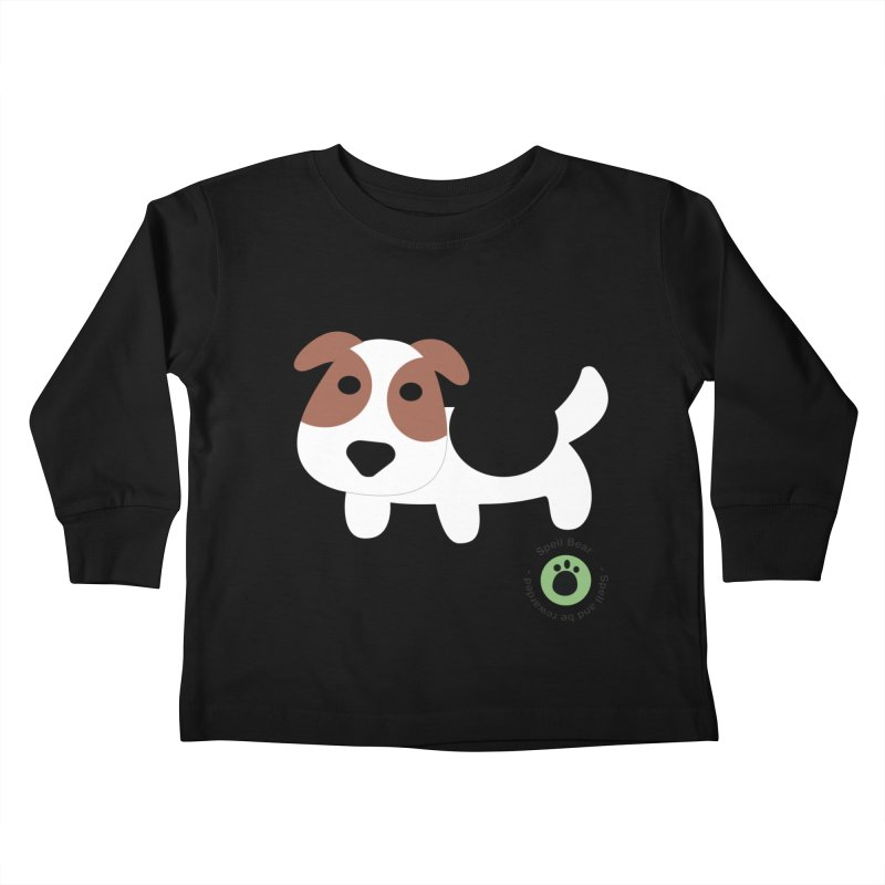 Spell Bear's Dog Kids Toddler Longsleeve T-Shirt by Bware Clothing's Shop