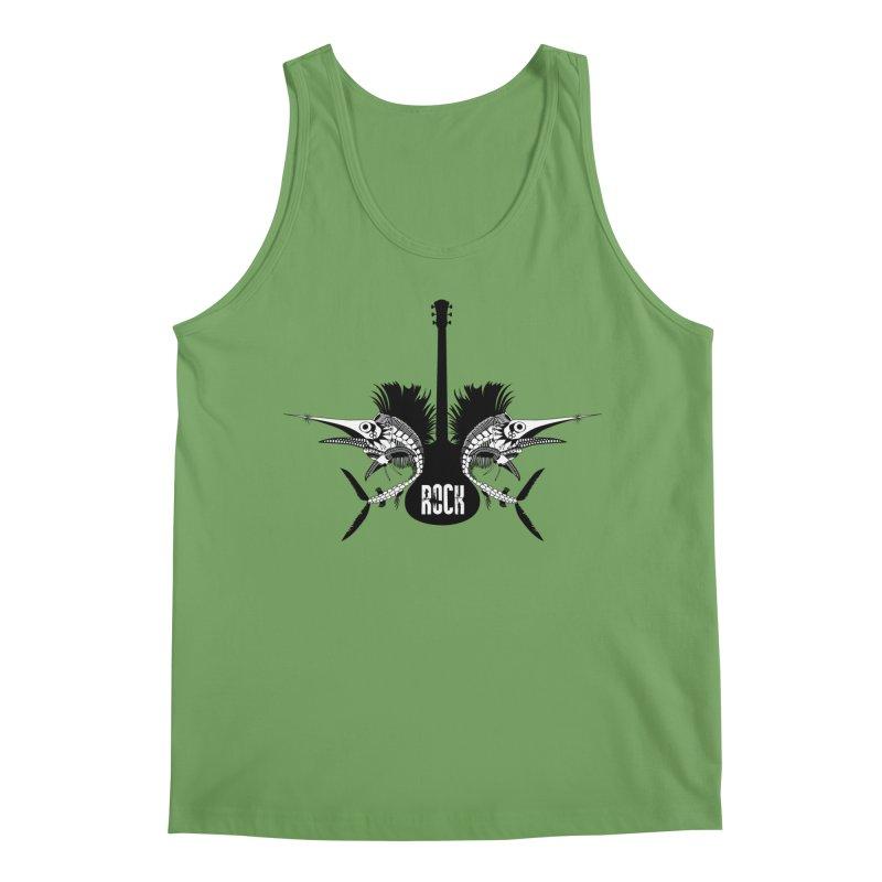 Punk Rock Swordfish Men's Tank by Bware Clothing's Shop