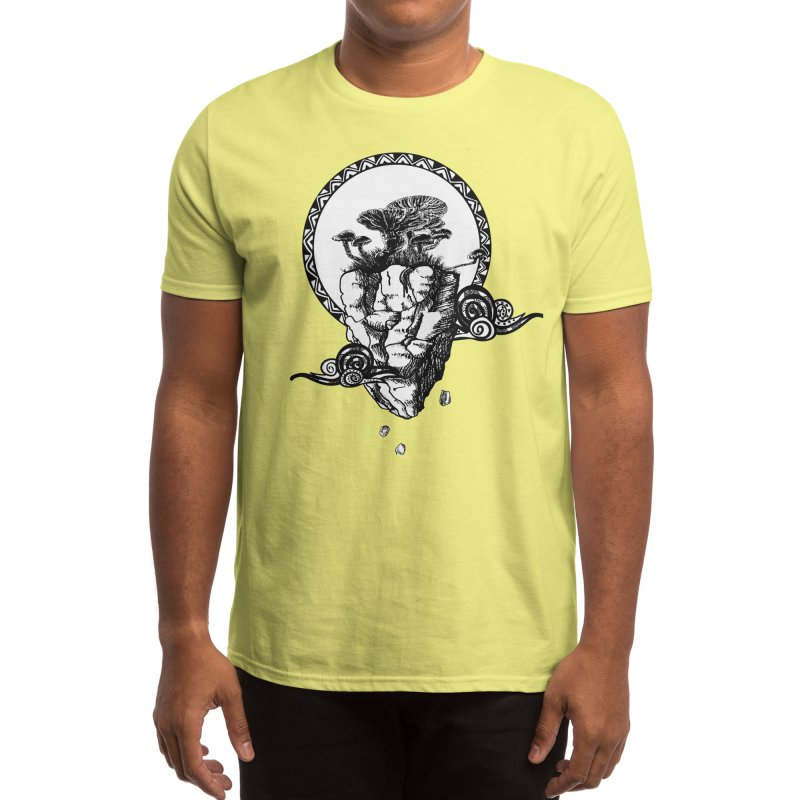 Mushroom Island Men's T-Shirt by Bware Clothing's Shop