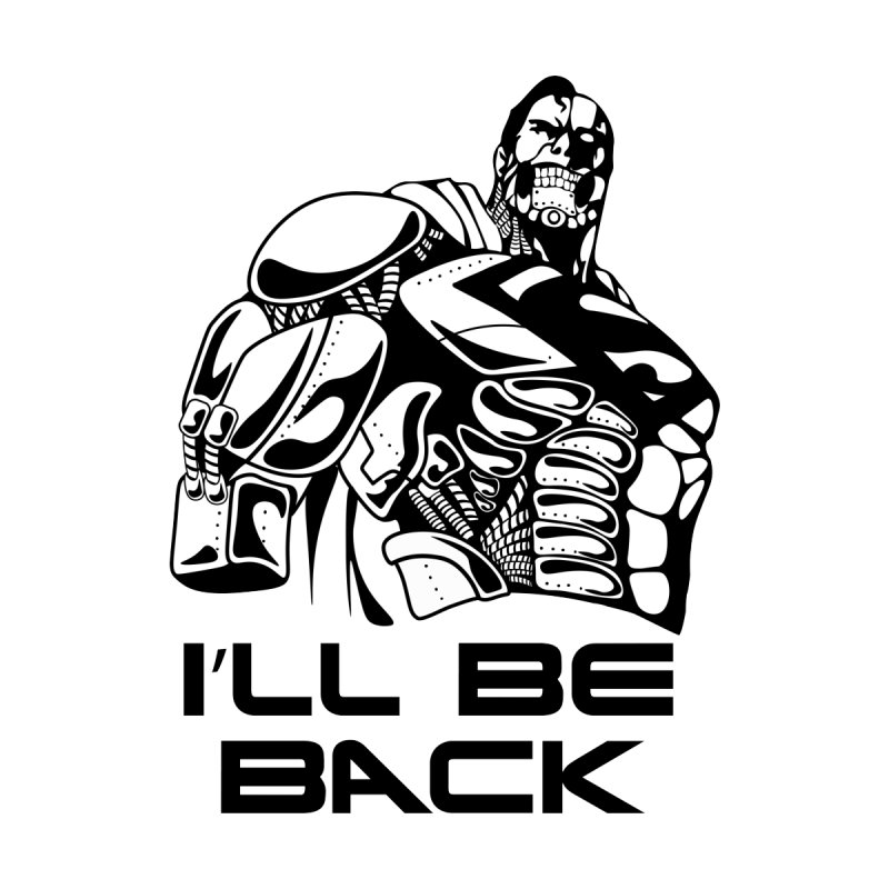 I'll be back Men's Tank by Bware Clothing's Shop