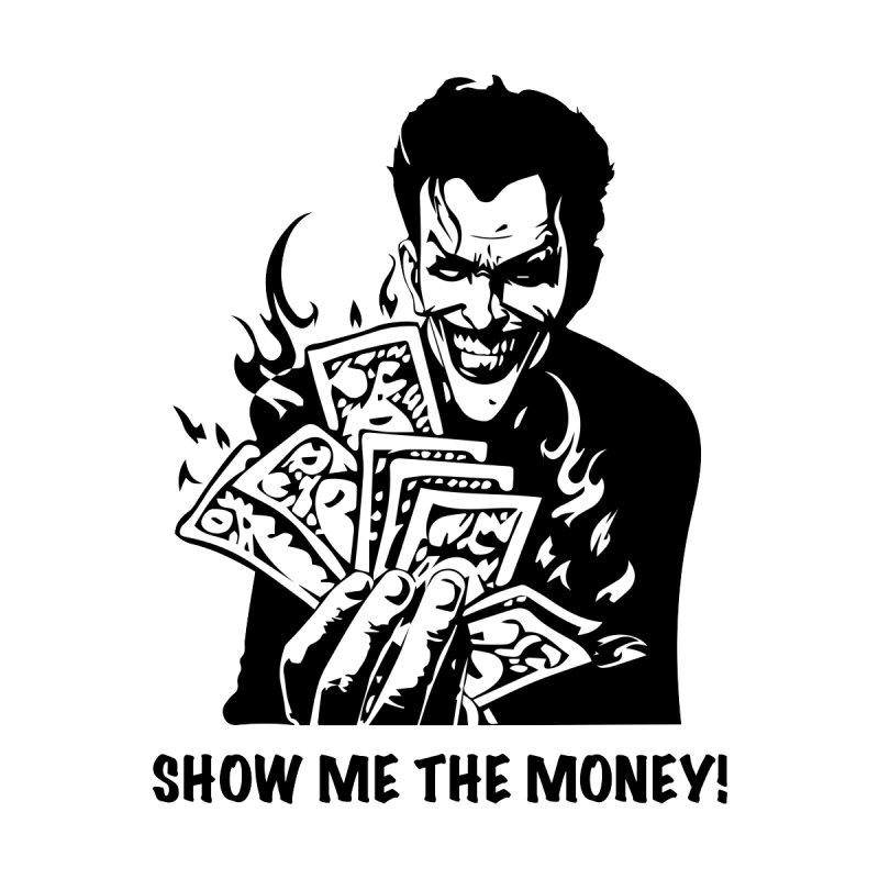 Joker Show Me The Money! Women's Zip-Up Hoody by Bware Clothing's Shop