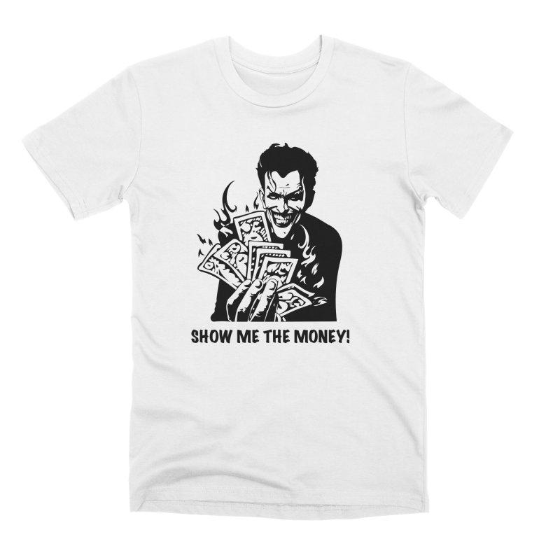 Joker Show Me The Money! Men's T-Shirt by Bware Clothing's Shop