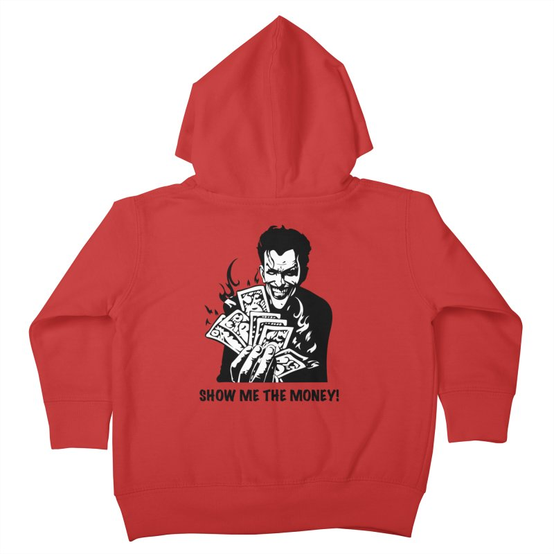 Joker Show Me The Money! Kids Toddler Zip-Up Hoody by Bware Clothing's Shop