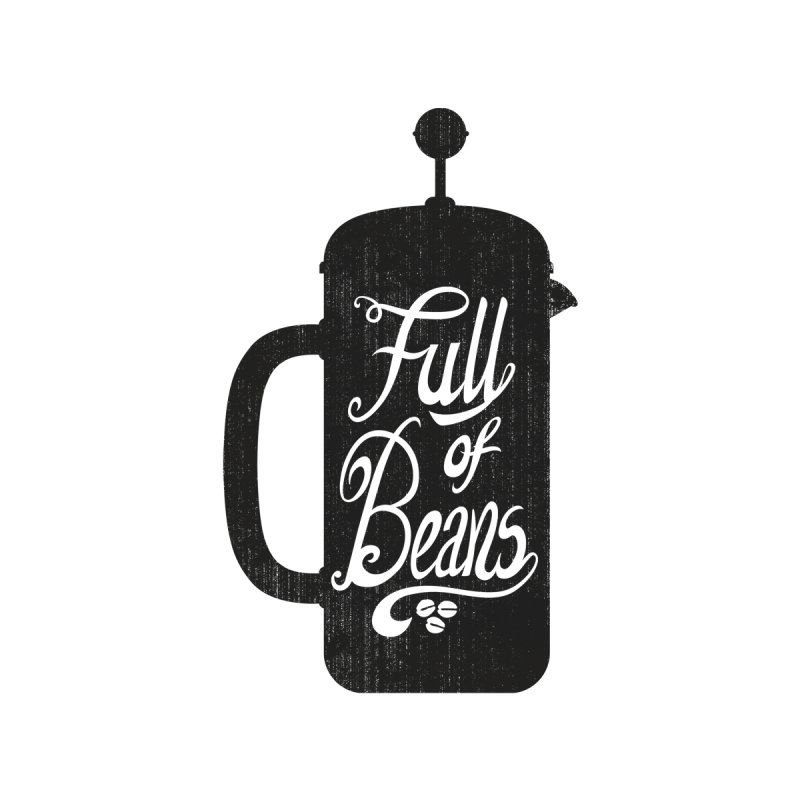 Full Of Beans Men's V-Neck by bwhittington's Artist Shop
