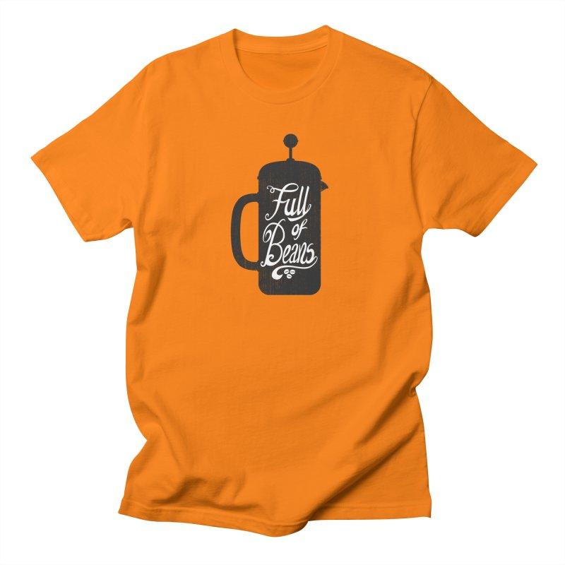 Full Of Beans Men's T-shirt by bwhittington's Artist Shop