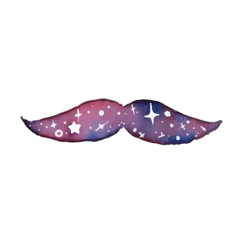 Smug Space Mustache by By Arielle's Artist Shop