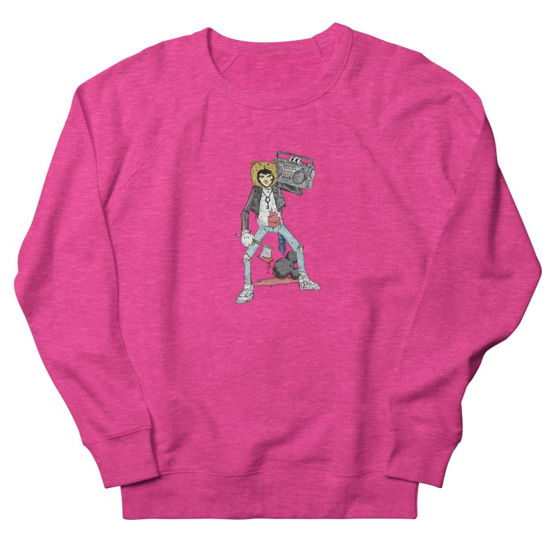 furry killing furry Women's French Terry Sweatshirt by bybred's Artist Shop