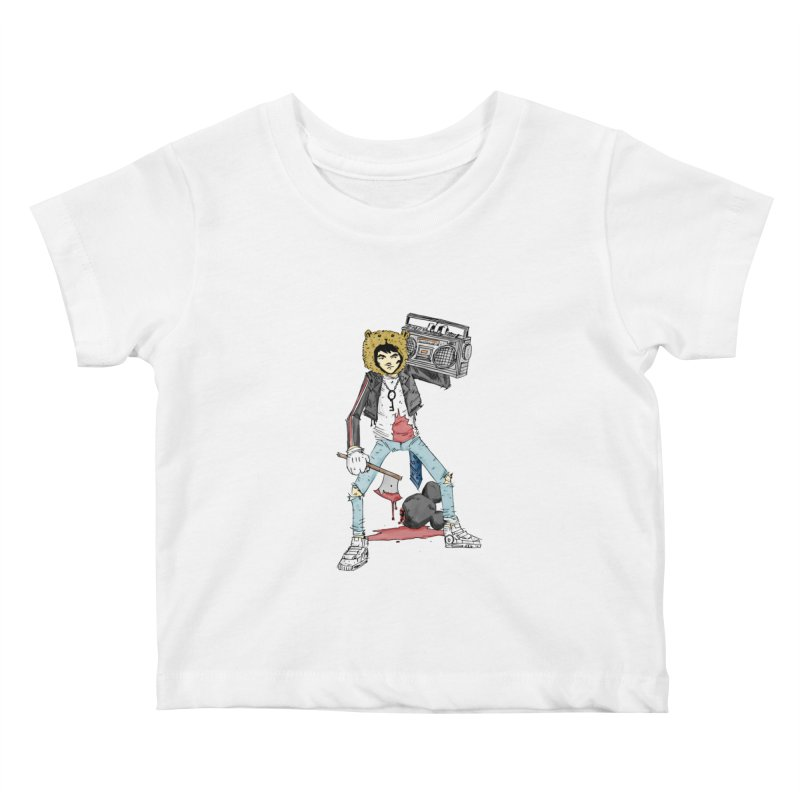 furry killing furry Kids Baby T-Shirt by bybred's Artist Shop