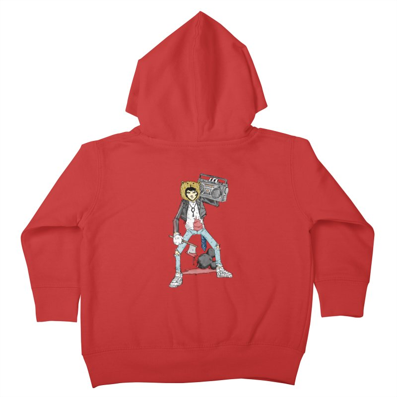 furry killing furry Kids Toddler Zip-Up Hoody by bybred's Artist Shop