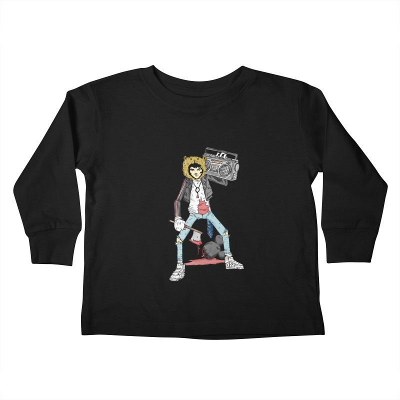 furry killing furry Kids Toddler Longsleeve T-Shirt by bybred's Artist Shop