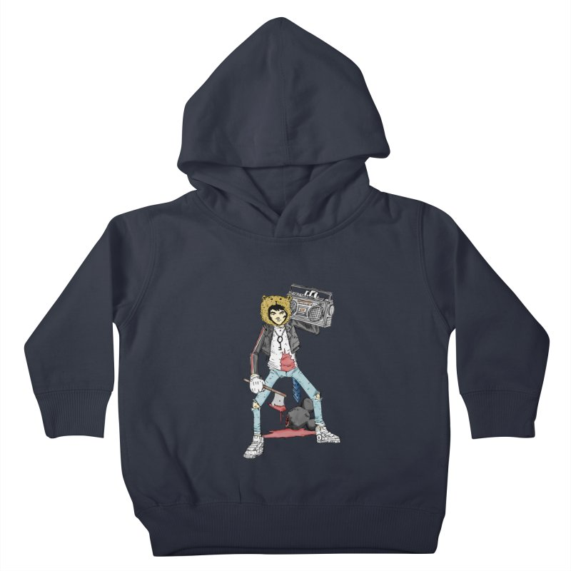 furry killing furry Kids Toddler Pullover Hoody by bybred's Artist Shop