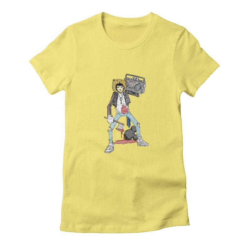 furry killing furry Women's Fitted T-Shirt by bybred's Artist Shop