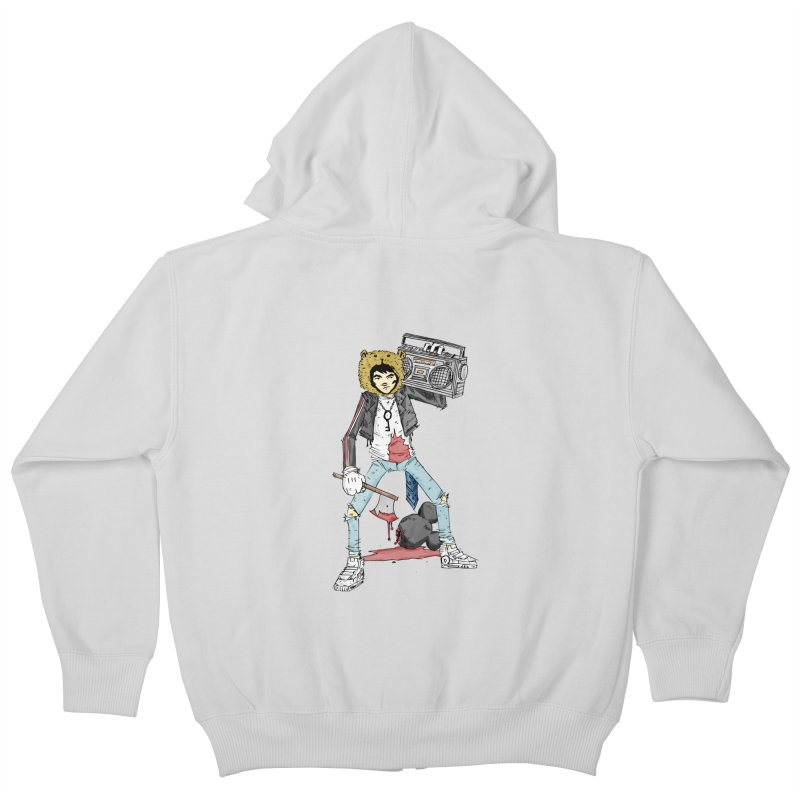furry killing furry Kids Zip-Up Hoody by bybred's Artist Shop