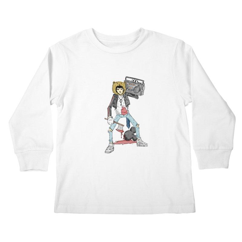 furry killing furry Kids Longsleeve T-Shirt by bybred's Artist Shop