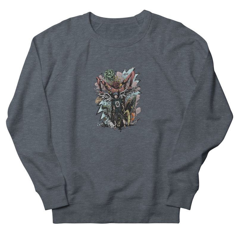 Gifts and Curses Men's French Terry Sweatshirt by bybred's Artist Shop