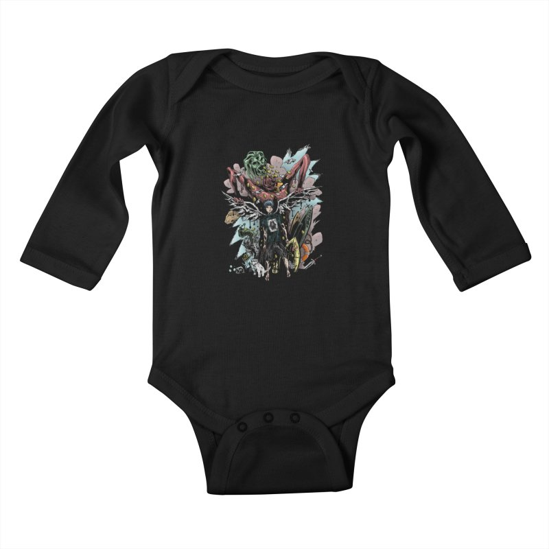 Gifts and Curses Kids Baby Longsleeve Bodysuit by bybred's Artist Shop
