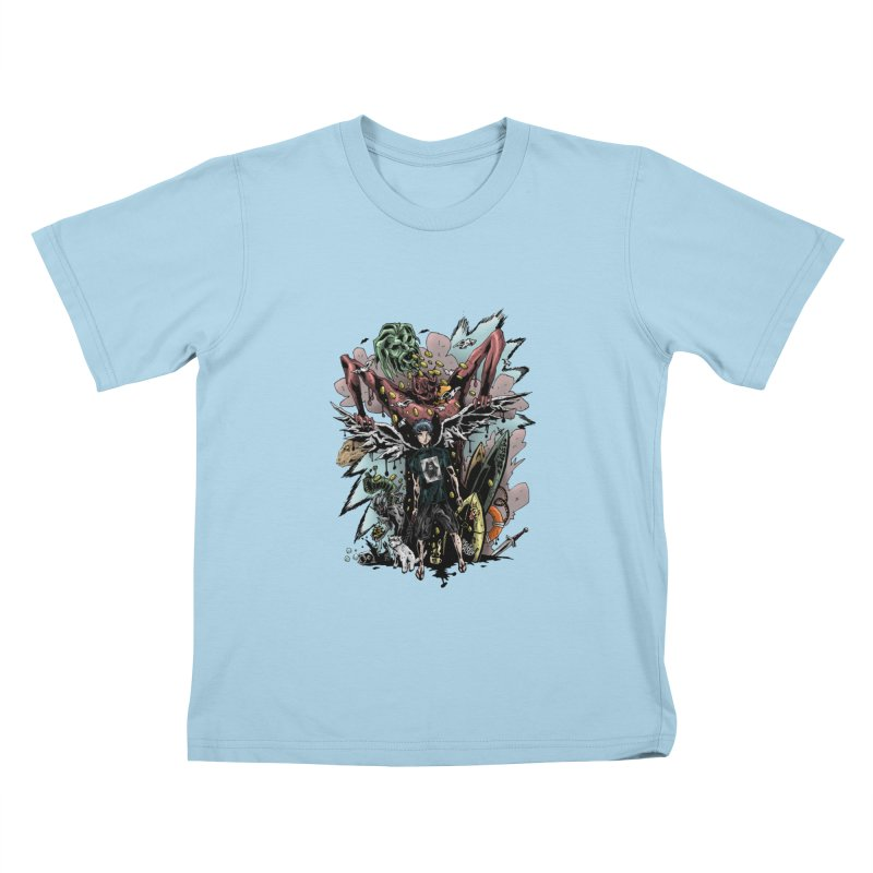 Gifts and Curses Kids T-shirt by bybred's Artist Shop