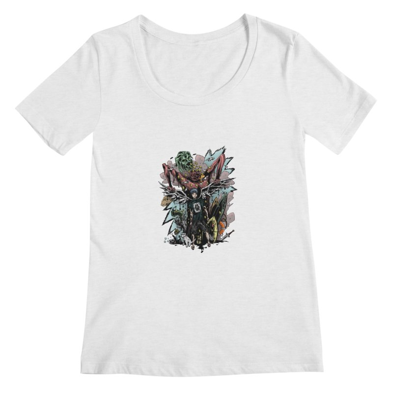 Gifts and Curses Women's Scoopneck by bybred's Artist Shop