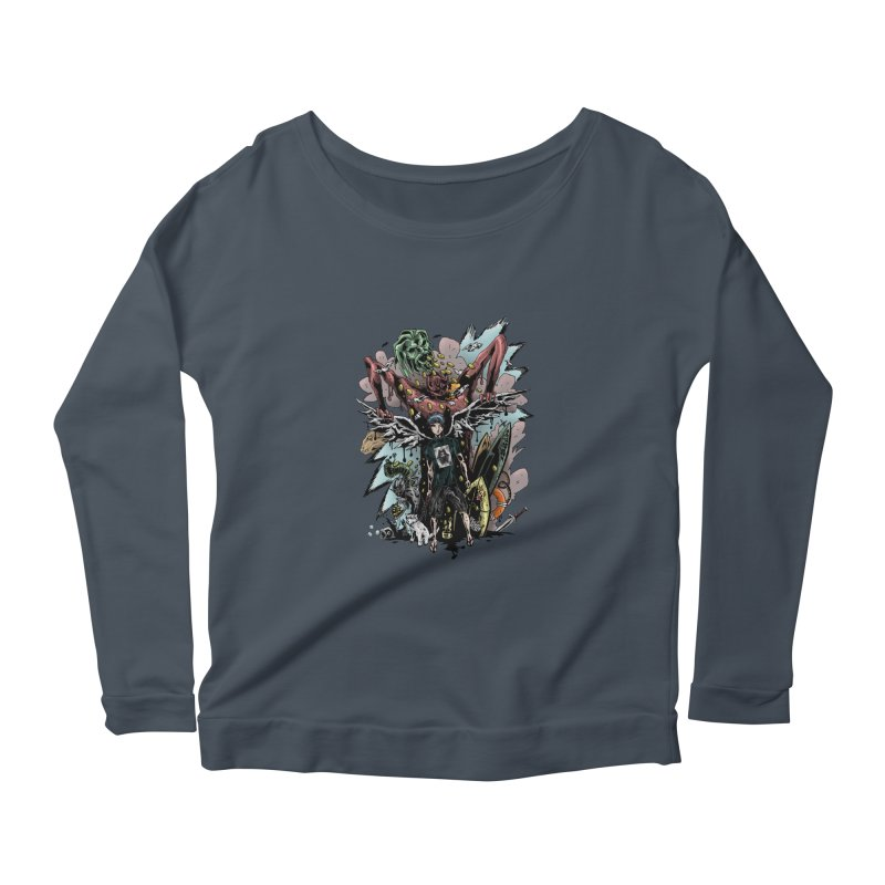 Gifts and Curses Women's Longsleeve Scoopneck  by bybred's Artist Shop