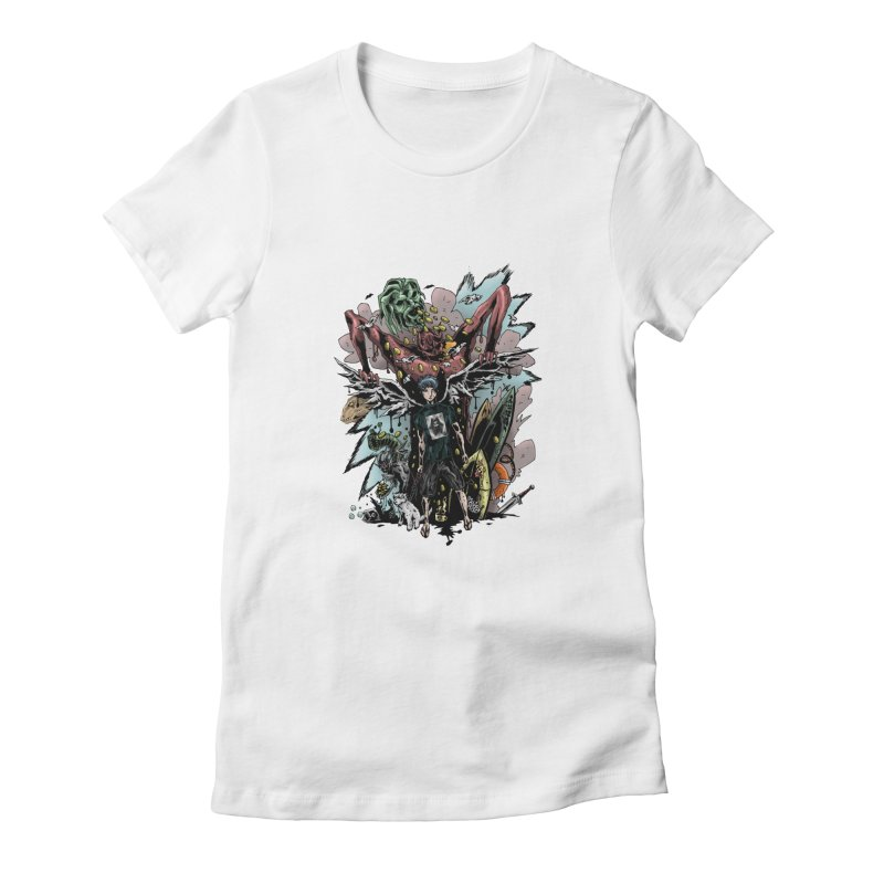 Gifts and Curses Women's Fitted T-Shirt by bybred's Artist Shop