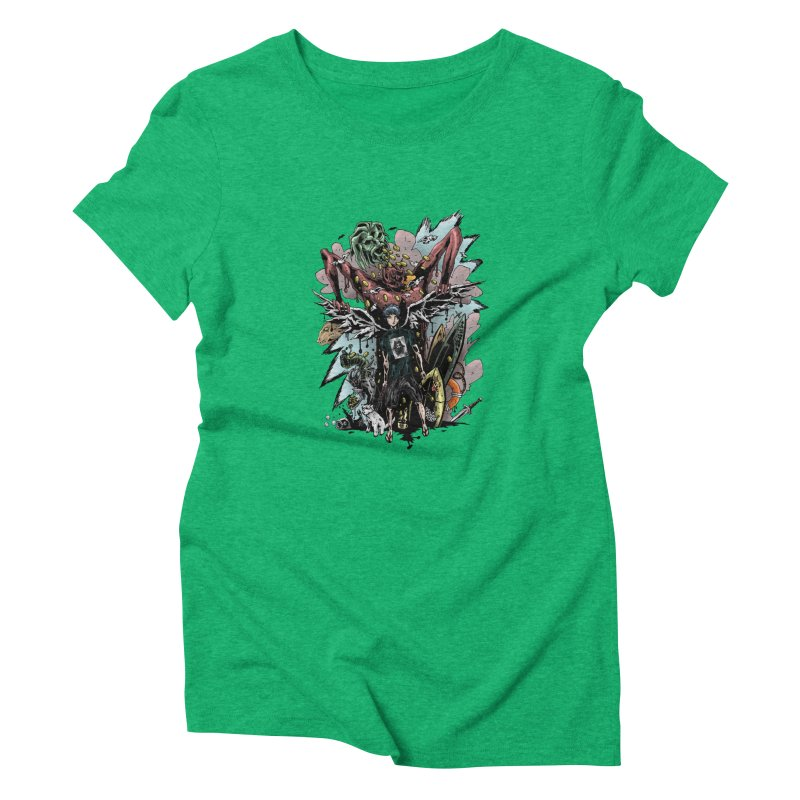 Gifts and Curses Women's Triblend T-Shirt by bybred's Artist Shop