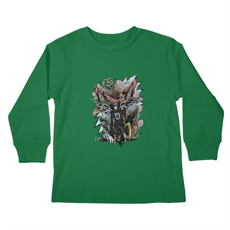 Gifts and Curses Kids Longsleeve T-Shirt by bybred's Artist Shop