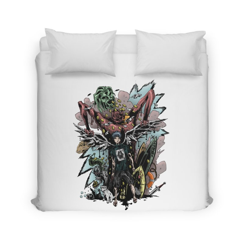 Gifts and Curses Home Duvet by bybred's Artist Shop
