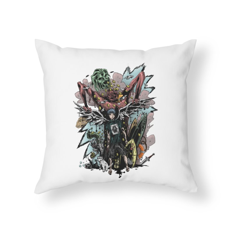 Gifts and Curses Home Throw Pillow by bybred's Artist Shop