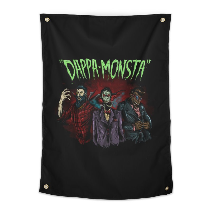 Dappa Monsta Home Tapestry by bybred's Artist Shop