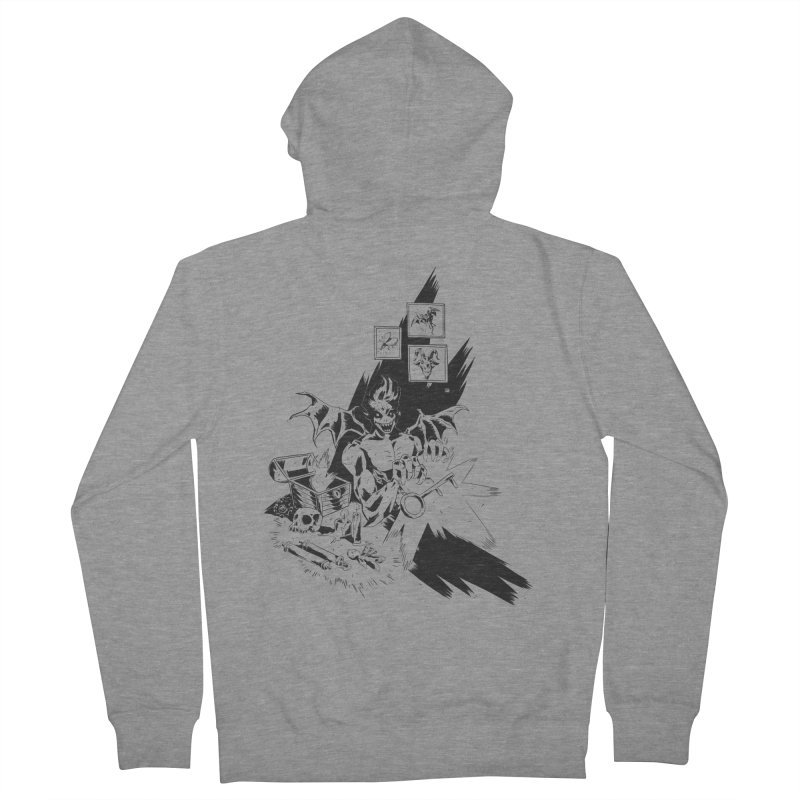 Key Men's Zip-Up Hoody by bybred's Artist Shop