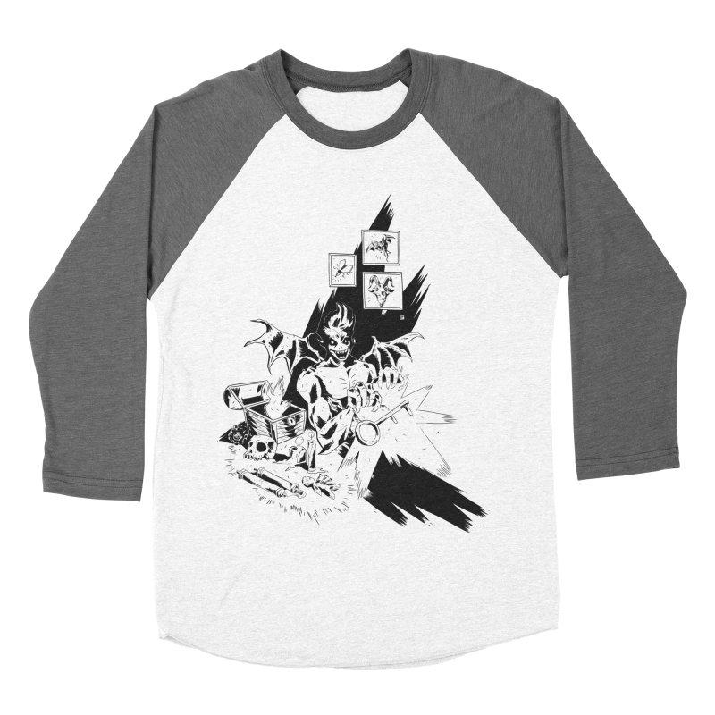 Key Men's Baseball Triblend T-Shirt by bybred's Artist Shop