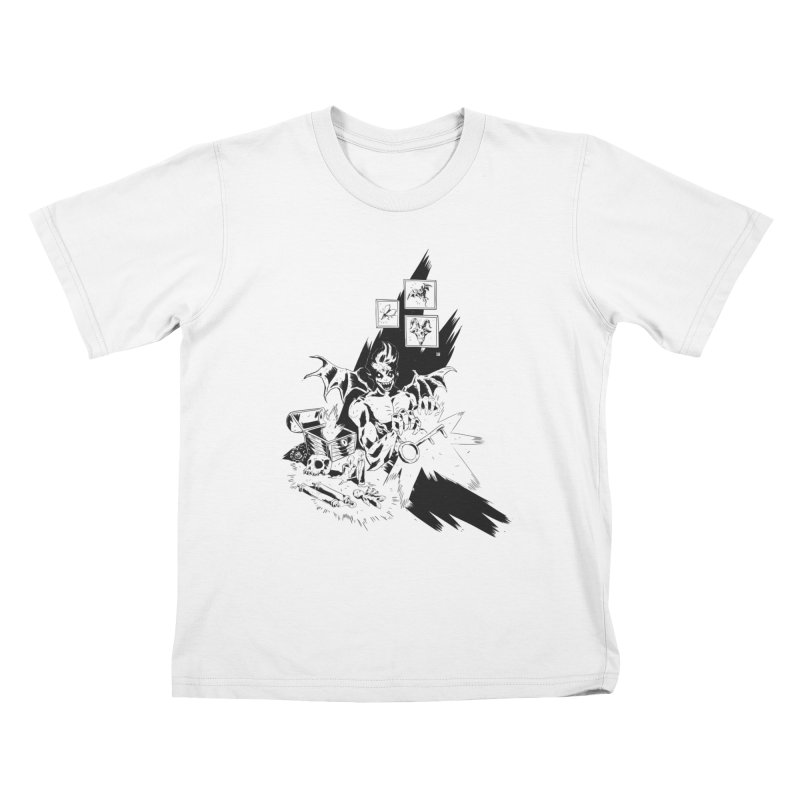 Key Kids T-Shirt by bybred's Artist Shop