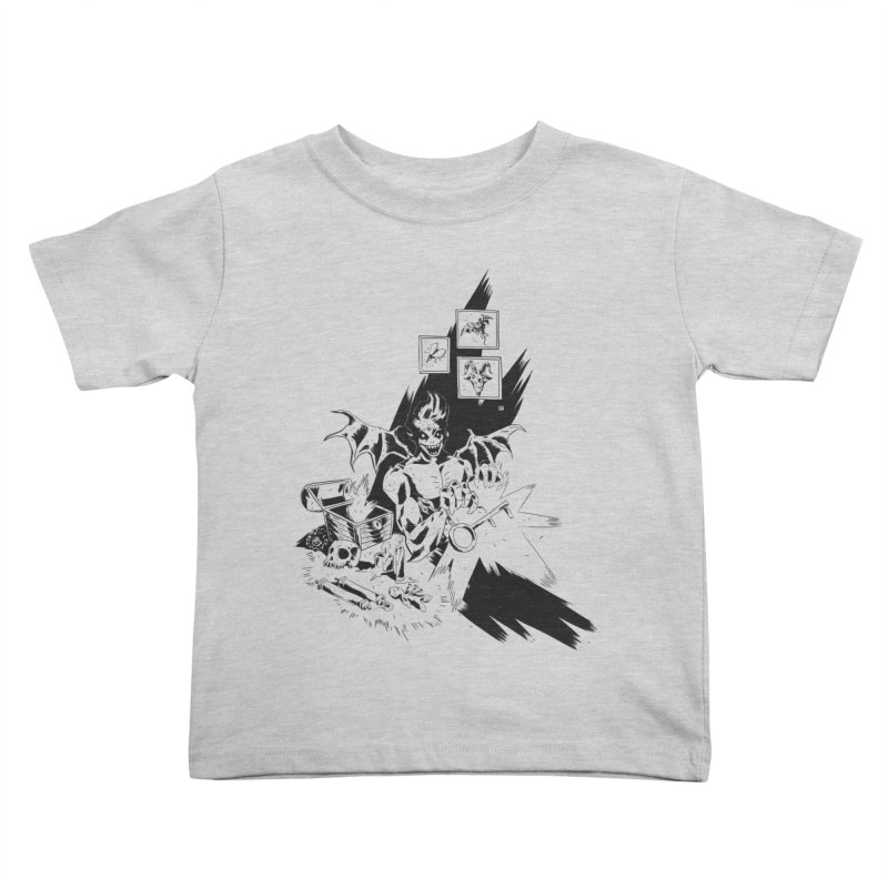 Key Kids Toddler T-Shirt by bybred's Artist Shop