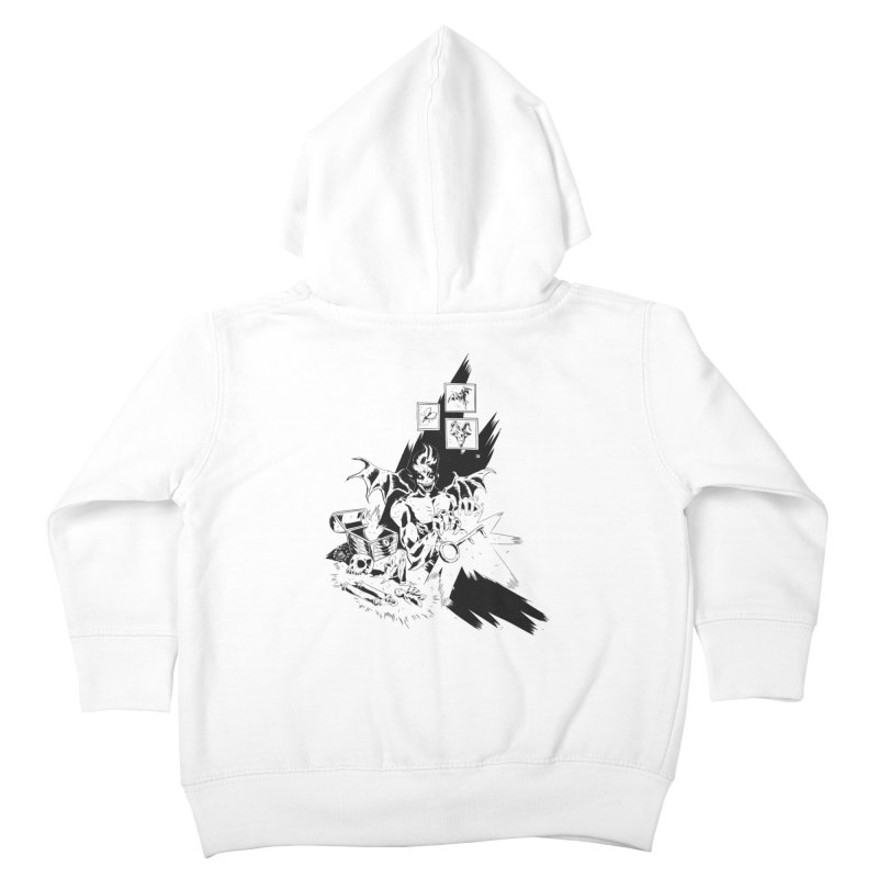 Key Kids Toddler Zip-Up Hoody by bybred's Artist Shop