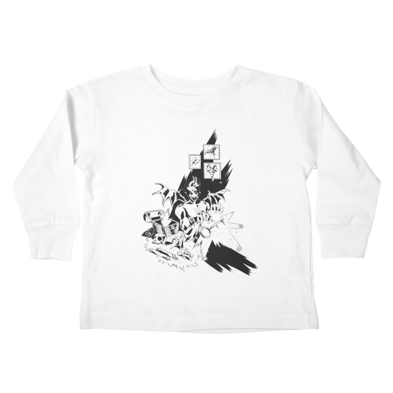 Key Kids Toddler Longsleeve T-Shirt by bybred's Artist Shop