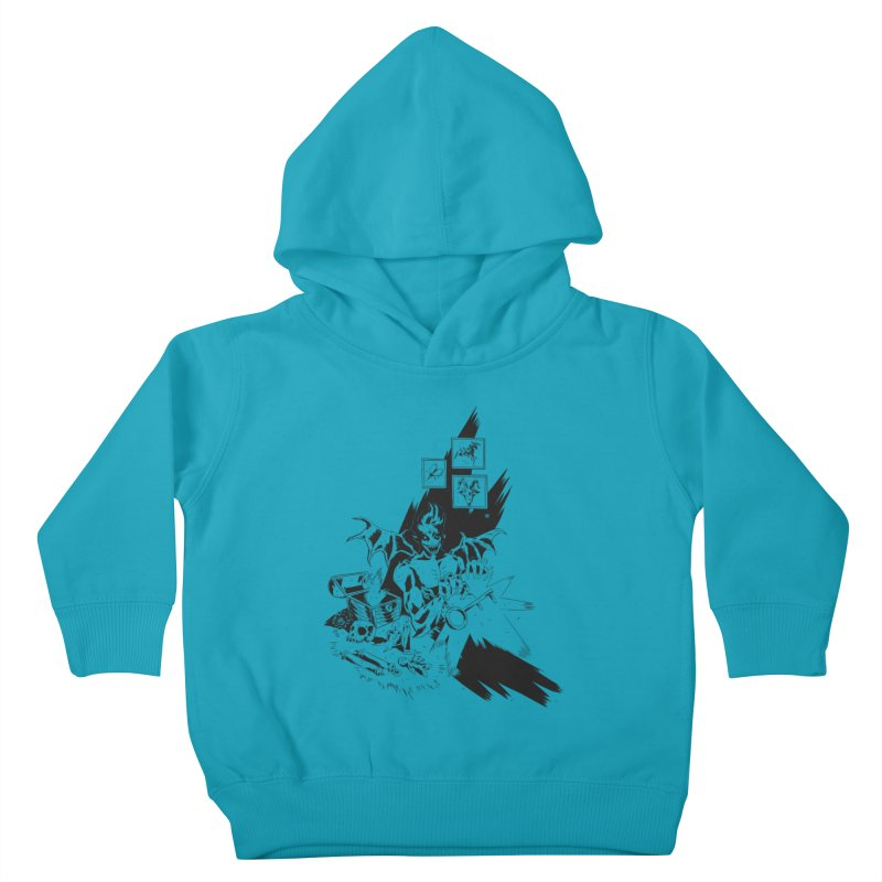 Key Kids Toddler Pullover Hoody by bybred's Artist Shop