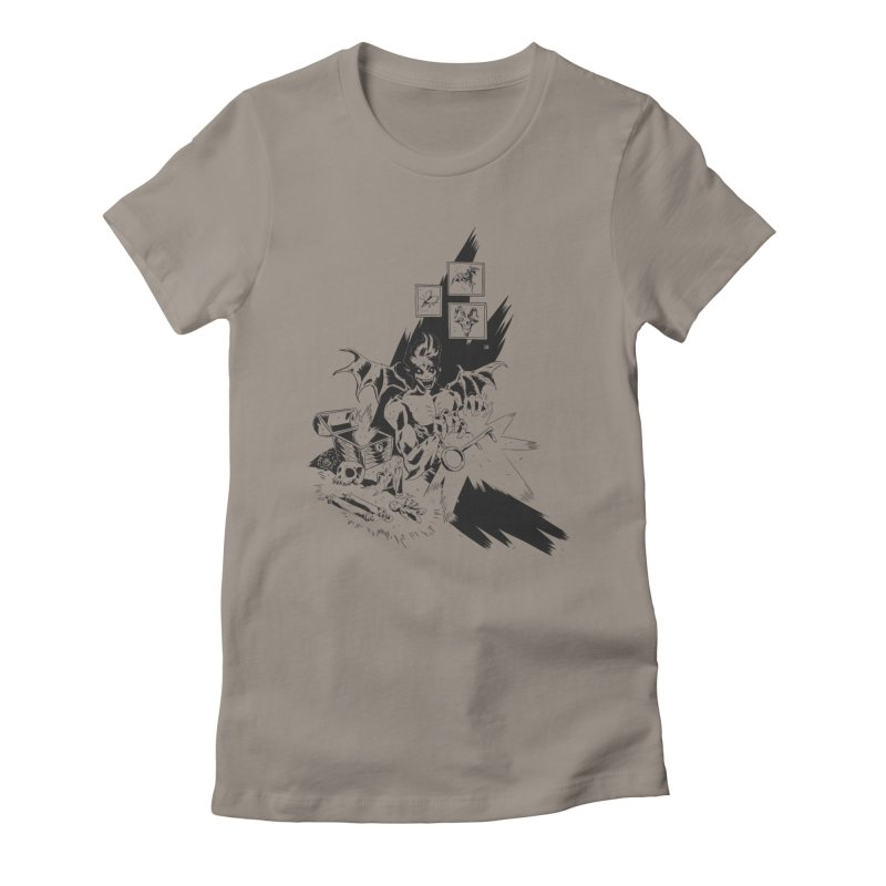 Key Women's Fitted T-Shirt by bybred's Artist Shop