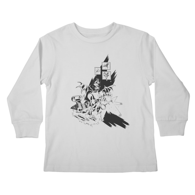 Key Kids Longsleeve T-Shirt by bybred's Artist Shop