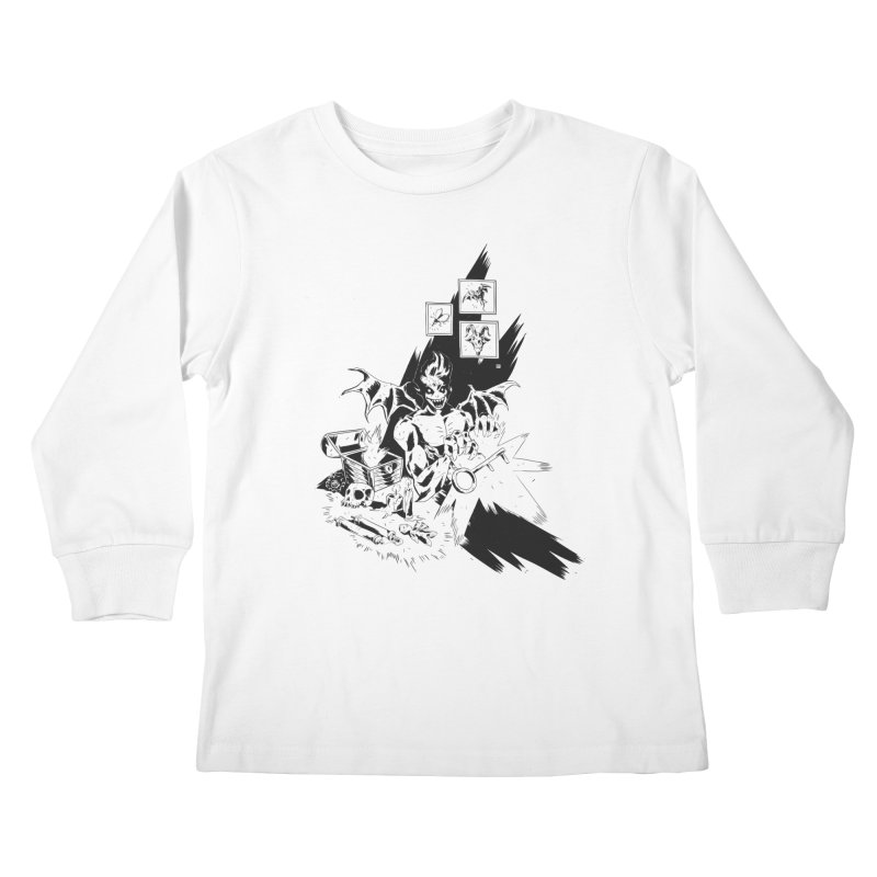 Key Kids Longsleeve T-Shirt by bybred's Artist Shop