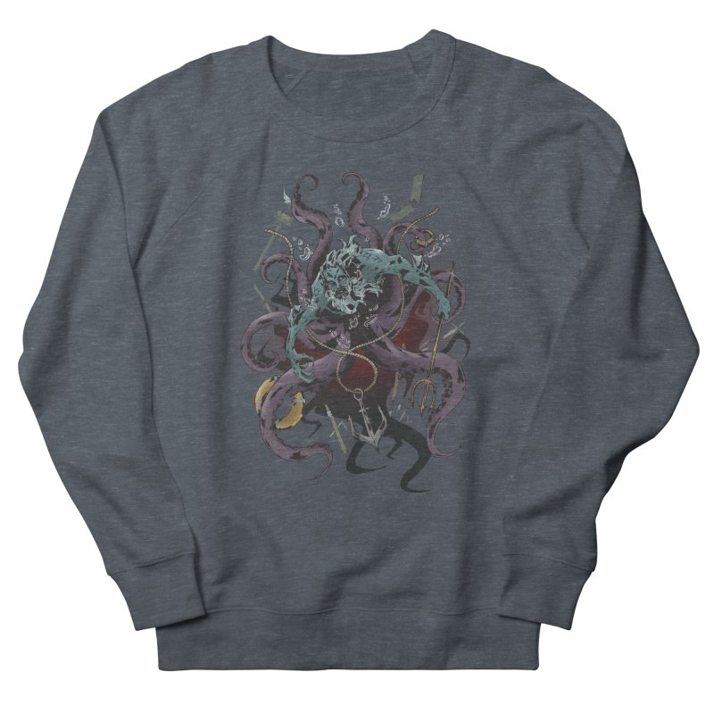Naughty-cal Men's French Terry Sweatshirt by bybred's Artist Shop