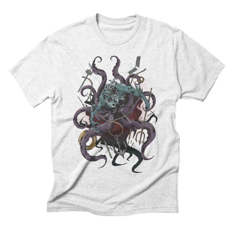 Naughty-cal Men's Triblend T-shirt by bybred's Artist Shop