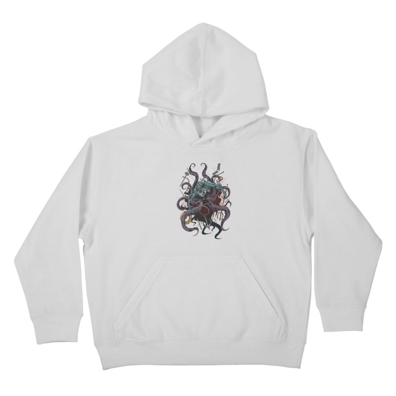 Naughty-cal Kids Pullover Hoody by bybred's Artist Shop