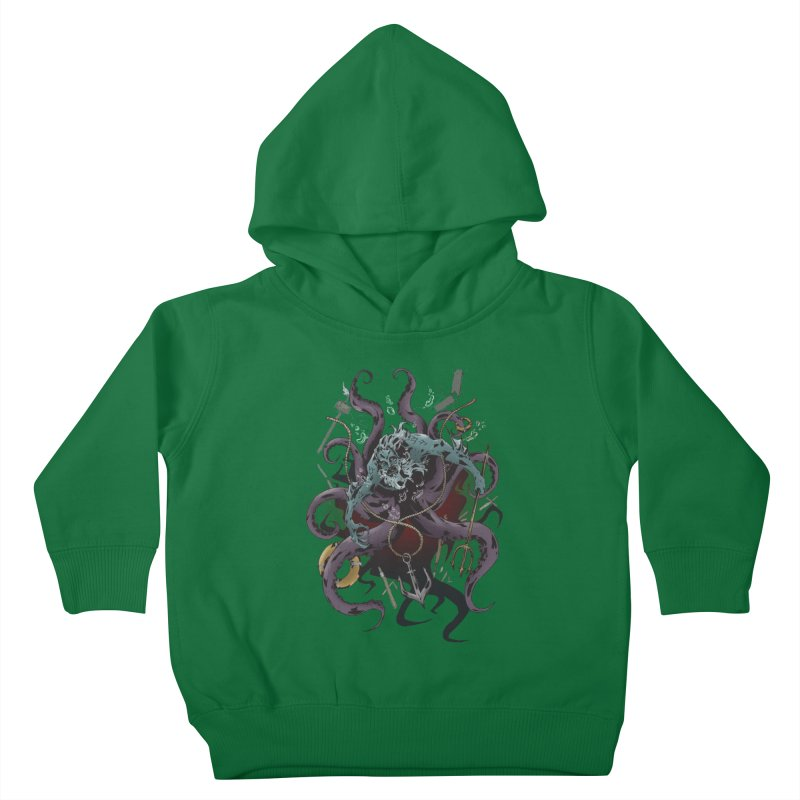 Naughty-cal Kids Toddler Pullover Hoody by bybred's Artist Shop